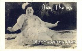 cir004152 - Baby Thelma 619 IBS Circus Postcard Post Card Old Vintage Antique