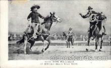 cir005028 - Buffalo Bill (Col. Wm F. Cody) Postcard