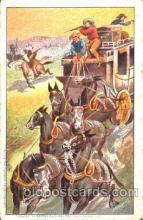 cir005079 - Buffalo Bill's Wild West Postcard Post Card