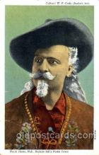 cir005080 - Buffalo Bill's Wild West Postcard Post Card