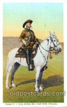 cir005089 - Colonel W.F. Cody, Buffalo Bill, Barnum & Bailey Circus, Postcard Post Card