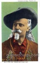 cir005091 - Colonel W.F. Cody, Buffalo Bill, Barnum & Bailey Circus, Postcard Post Card