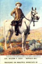 cir005097 - Colonel W.F. Cody, Buffalo Bill, Barnum & Bailey Circus, Postcard Post Card