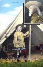 cir005098 - Colonel W.F. Cody, Buffalo Bill, Barnum & Bailey Circus, Postcard Post Card