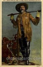 cir005103 - Circus Buffalo Bill Postcard Post Card