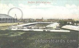 cir005105 - Buffalo Bill's Wild West Circus Postcard Post Card