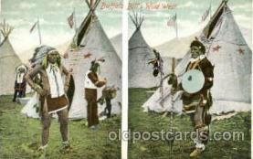 cir005167 - Circus Buffalo Bill Wild West, Postcard Post Card