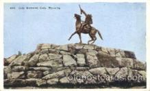 cir005182 - Cody Memorial, Wyoming Circus, Buffalo Bill's Wild West Postcard Post Card