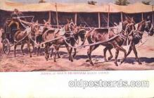 cir005183 - Dead wood stage coach Circus, Buffalo Bill's Wild West Postcard Post Card