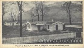 cir005186 - Cody 's home place Circus, Buffalo Bill's Wild West Postcard Post Card