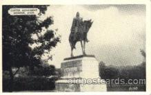 cir005188 - Monument Monroe, Mich Circus, Buffalo Bill's Wild West Postcard Post Card