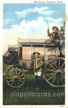 cir005201 - Deadwood  coach Circus, Buffalo Bill's Wild West Postcard Post Card