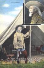 cir005204 - Circus, Buffalo Bill's Wild West Postcard Post Card
