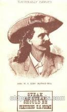 cir005205 - Circus, Buffalo Bill's Wild West Postcard Post Card