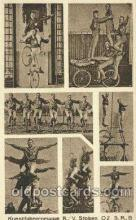 cir006006 - Kunstfahrergruppe Circus Postcard Post Card