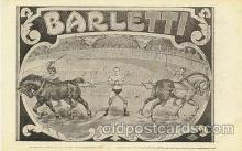 cir006007 - Barletti Circus Postcard Post Card