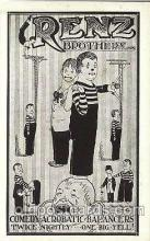 cir006009 - Renz Brothers Circus Postcard Post Card