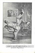 cir006020 - Les 2 Noriac's Acrobates Postcard Post Card