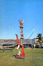 cir006049 - The Royal Hungarian Troupe performing at the Circus Hall of Fame in Sarasota, Florida USA