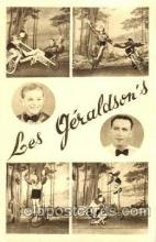 cir006050 - Les Geraldson's Cycling Asts, Postcard Post Card