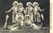 cir006064 - Flatten's Acrobats Postcard Post Card