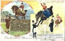 cir006065 - Barnum & Bailey Horse jumping postcard Post Card