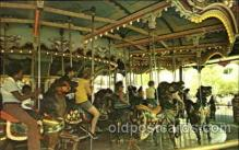 cir006068 - Hersheypark Famous Carrousel, Merry Go Round Postcard Post Card