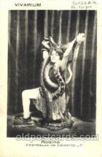cir006071 - Rosina Snake Lady postcard Post Card