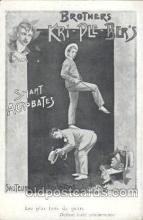 cir006121 - Circus Postcard Post Card Brothers Kri-Ple-Ber's