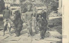cir006126 - Circus Postcard Post Card J&G Hagenbeck's ind Ausstellung