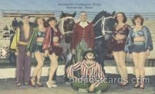 cir006127 - Circus Postcard Post Card Gainesville, Texes, USA Circus