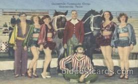 Gainesville, Texes, USA Circus