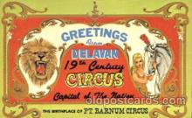 Delavan Circus, WI, USA