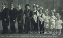cir006164 - The Nelson Family Circus Postcard Post Card