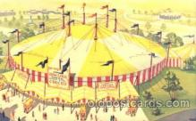 cir006172 - Contiental Circus New York Worlds Fair 1964-65 Circus Postcard Post Card