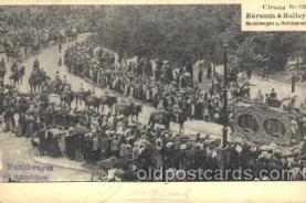 cir006183 - Barnum and Bailey Circus Circus Postcard Post Card