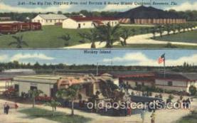 cir006188 - Monkey Island Circus Postcard Post Card