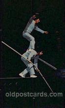 cir006216 - High Wire Heroism Circus Postcard Post Card
