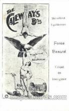 cir006233 - Force Beaute Merveilleux Equilibristes, Circus Postcard Post Card