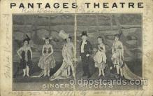 cir006245 - Pantages Theaters Singer's Midgets, Circus Oddities Postcard Post Card