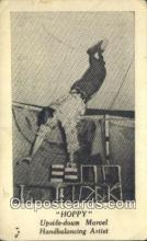 cir006251 - Hoppy, Handbalancing Artist Circus Postcard Post Card Old Vintage Antique