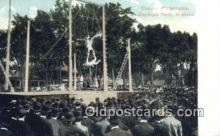 cir006257 - Trapeze Performance Dominion Park, Montreal Canada  Postcard Post Card, Carte Postale, Cartolina Postale, Tarjets Postal,  Old Vintage Antique