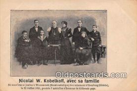 Nicolai W Kobelkoff, Avec Sa Famille