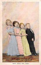 cir006279 - Midget Circus Postcards