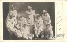 cir007005 - Catlin's Royal Pierrots 1913, Circus Clown Clowns Postcard Post Card
