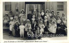 Zum Andenken an Schneiders Liliputaner Stadt und Cirkus