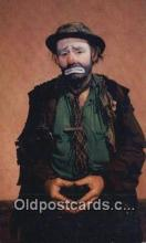 cir007101 - Emmett Kelly as Weary Willie Ringling Brothers and Barnum Bailey Circus Postcard Post Card, Carte Postale, Cartolina Postale, Tarjets Postal,  Old Vintage Antique