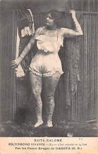 cir007203 - Djita Salome, Polychrome Vivante Tattoo Post Card