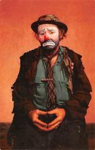 cir007241 - Emmett Kelly as Weary Willie Circus World Famous Clown Post Card
