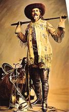 cir007267 - Buffalo Bill Cody, Famous frontier Scout and Buffalo Hunter Circus Post Card